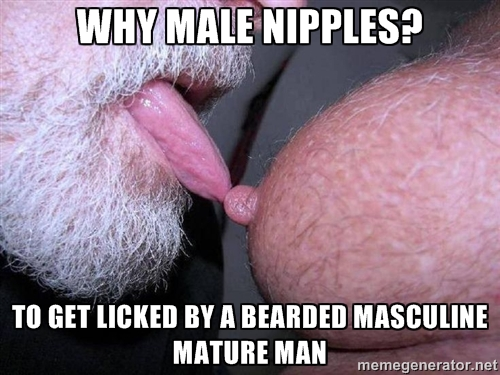 why male nipples