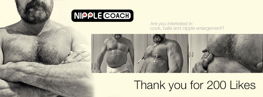 <h1>200 Likes on Nipplecoach Page</h1> <h2>Make it big. Invite your friends.</h2>